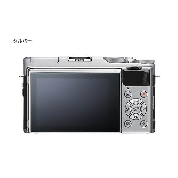 フジフイルム 小型一眼カメラ 1本レンズキット(標準ズーム) X-A5LK-S シルバー