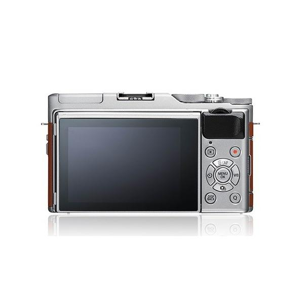 フジフイルム 小型一眼カメラ 1本レンズキット(標準ズーム) X-A5LK-BW ブラウン ksdenki 03