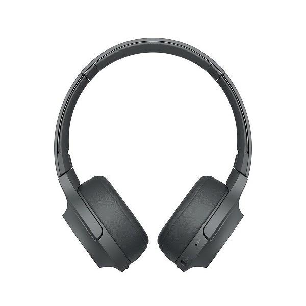 【オススメ商品!】 (アウトレット) ソニー Bluetoothヘッドホン WH-H800 B グレイッシュブラック|ksdenki|02