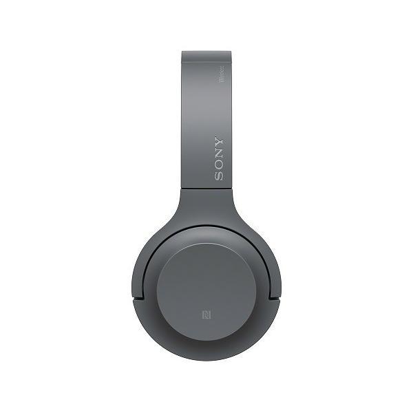 【オススメ商品!】 (アウトレット) ソニー Bluetoothヘッドホン WH-H800 B グレイッシュブラック|ksdenki|03