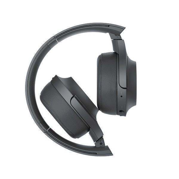 【オススメ商品!】 (アウトレット) ソニー Bluetoothヘッドホン WH-H800 B グレイッシュブラック|ksdenki|04