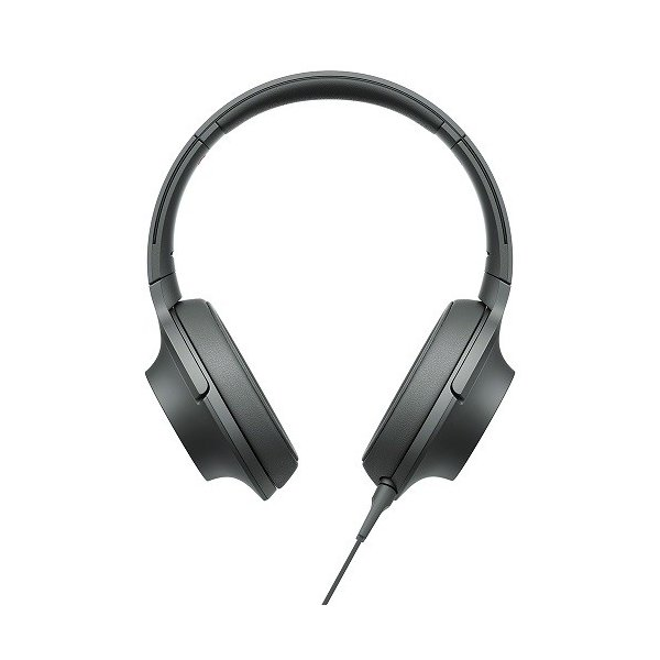 ソニー ポータブルヘッドホン高音質タイプ MDR-H600A B グレイッシュブラック