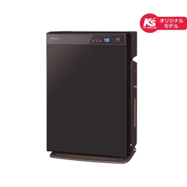 ダイキン工業 空気清浄機 加湿機能付 MCK70VKS-T ビターブラウン 適応畳数 空清:主に31畳、加湿:主に18畳【ケーズデンキオリジナルモデル】の画像