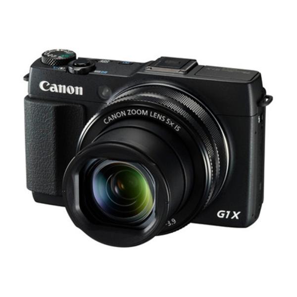 キヤノン 高画質タイプデジタルカメラ PSG1X MARKII (PowerShot G1X MARKII) ブラック