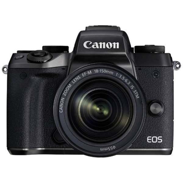 キヤノン 小型一眼カメラ 1本レンズキット(高倍率ズーム) EOS(イオス) EOSM5-18150ISSTMLK