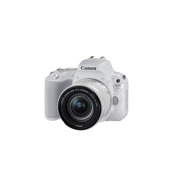 キヤノン 一眼レフカメラ 1本レンズキット(標準ズーム) KISSX9-1855F4ISSTMLK(WH) ホワイト