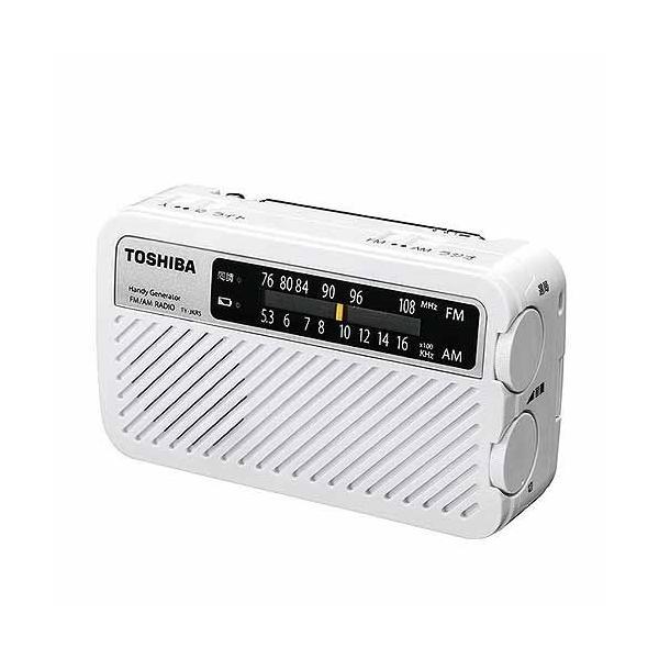 東芝 充電ラジオ TY-JKR5(W) ホワイト ksdenki