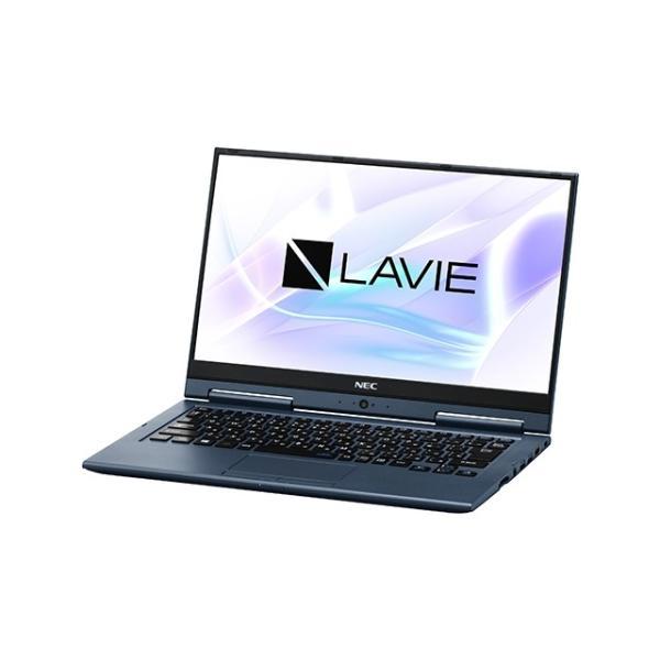 NEC PC-HZ550LAL ノートパソコン LAVIE Hybrid ZERO インディゴブルー [13.3型 /intel Core i5 /SSD:256GB /メモリ:8GB /2018年10月モデル]の画像
