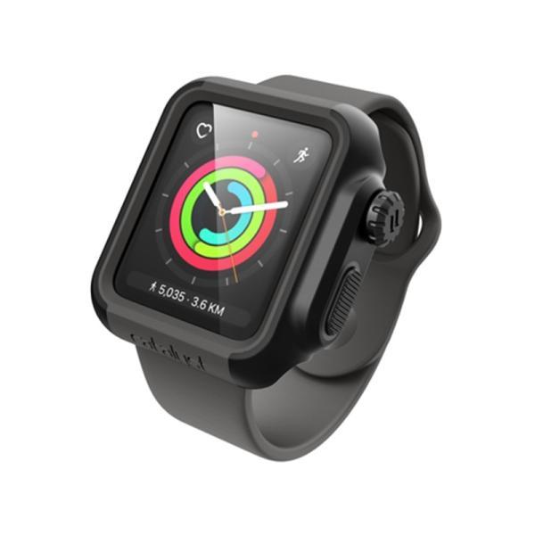 Catalyst Apple Watch 42mm シリーズ3/2用ケース CT-IPAW1742-BG ステルスブラック/グレー|ksdenki