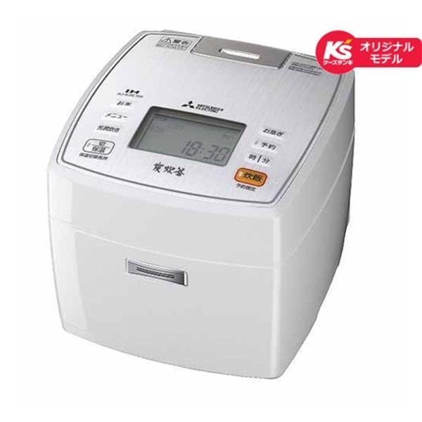 RoomClip商品情報 - (アウトレット) 三菱電機 IH炊飯器 NJ-KSE106-W ピュアホワイト 炊飯容量:5.5合