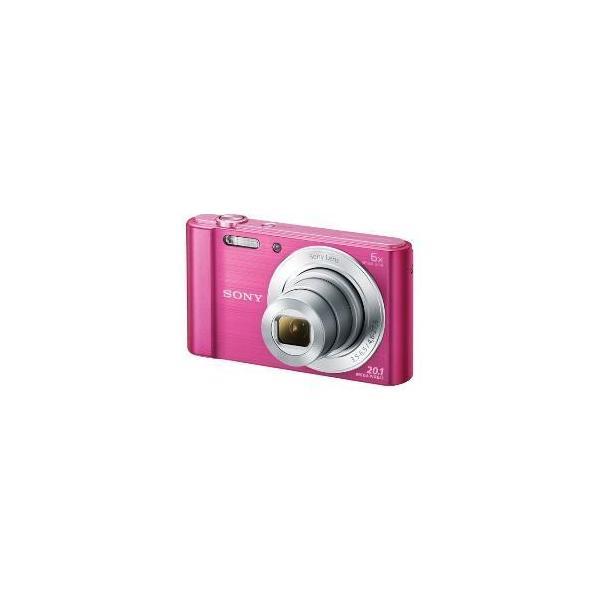 【アウトレット】ソニー デジタルカメラ(手ブレ補正あり) DSC-W810 P ピンク