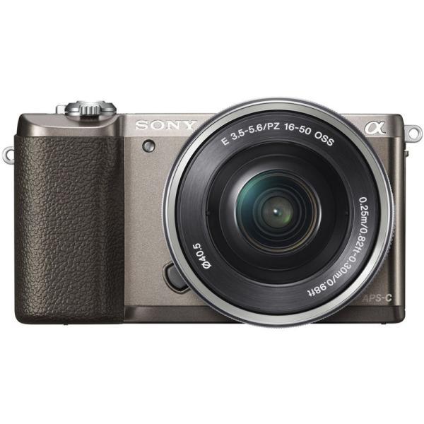 ソニー 小型一眼カメラ 1本レンズキット(電動ズーム) α(アルファ) α5100 ILCE-5100L T ブラウン