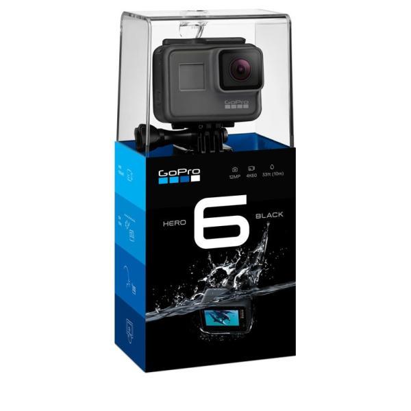 (アウトレット) GoPro(ゴープロ) ウェアラブルカメラ 4K HERO6 Black CHDHX-601-FW