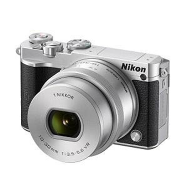 ニコン 小型一眼カメラ 1本レンズキット(電動ズーム) 4K Nikon1-J5HPLK(SL) シルバー