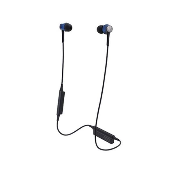 オーディオテクニカ Bluetoothヘッドホン ATH-CKR55BT BL ディープブルー