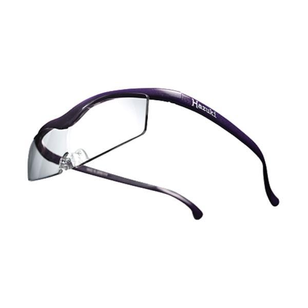 ハズキカンパニー ハズキルーペ ハズキコンパクト 1.32x クリアレンズ-VI 紫