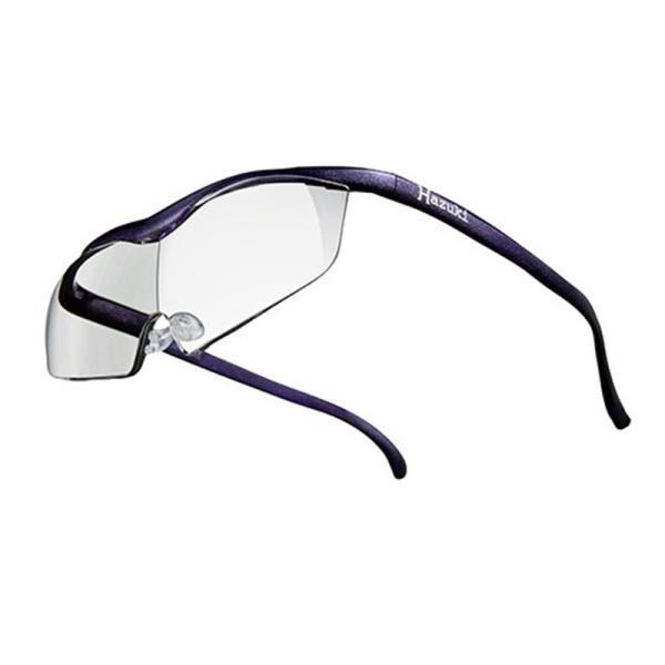 ハズキカンパニー ハズキルーペ ハズキラージ 1.85x クリアレンズ-VI 紫