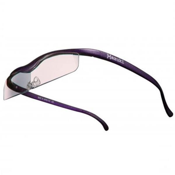 ハズキカンパニー ハズキルーペ ハズキクール 1.32x カラーレンズ-VI 紫