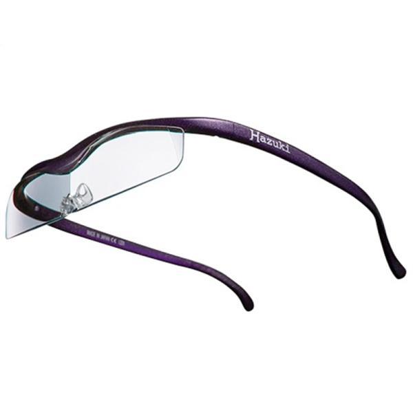 ハズキカンパニー ハズキルーペ ハズキクール 1.6x クリアレンズ-VI 紫