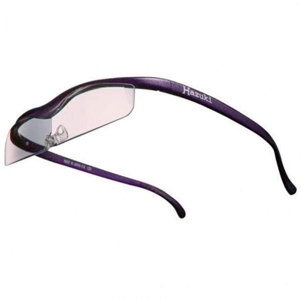 ハズキカンパニー ハズキルーペ ハズキクール 1.6x カラーレンズ-VI 紫