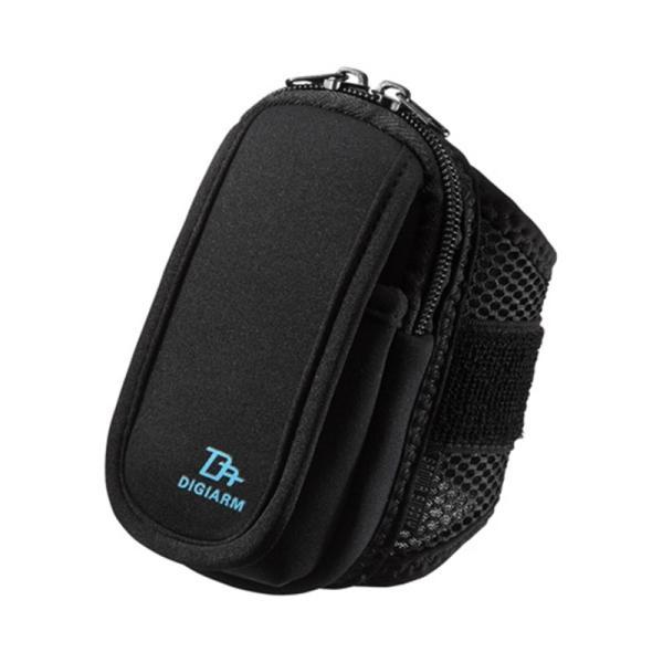 サンワサプライ アームバンドスポーツケース PDA-ARM2BK ブラックの画像