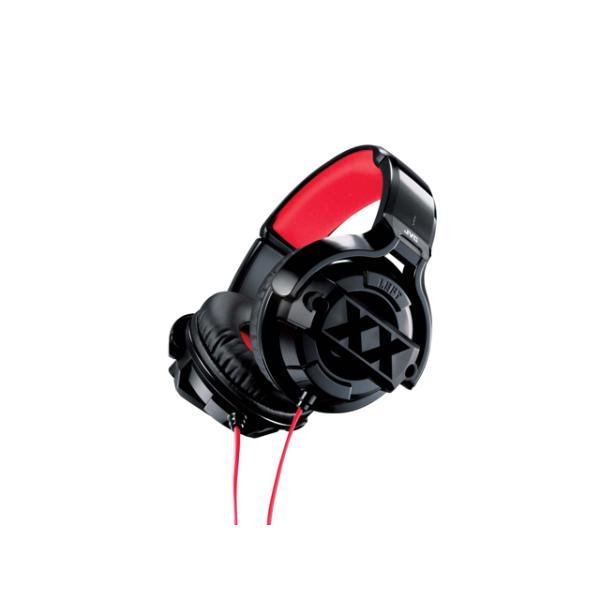 JVC バンドポータブルヘッドホン HA-XM20X ブラック