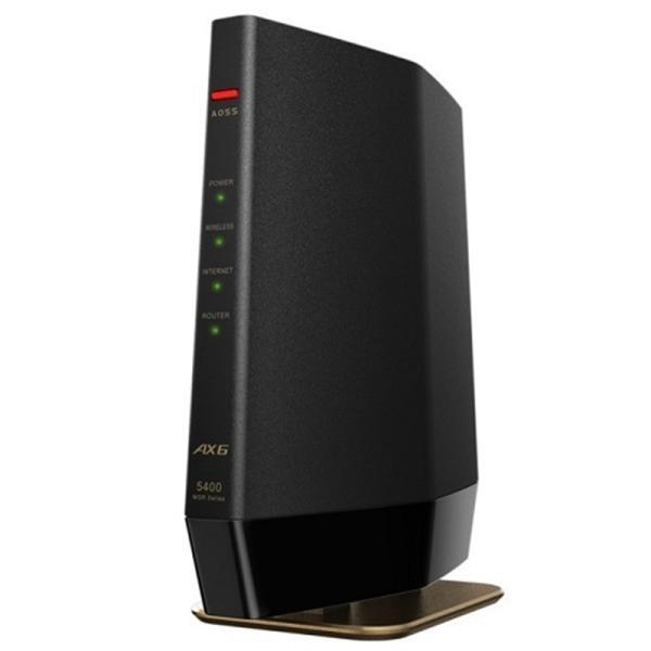 バッファロー Wi-Fi 6(11ax)対応ルーター WSR-5400AX6-MB マットブラック