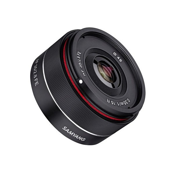 サムヤン 交換用レンズ ソニーEマウント AF 35mm F2.8 アルファFE