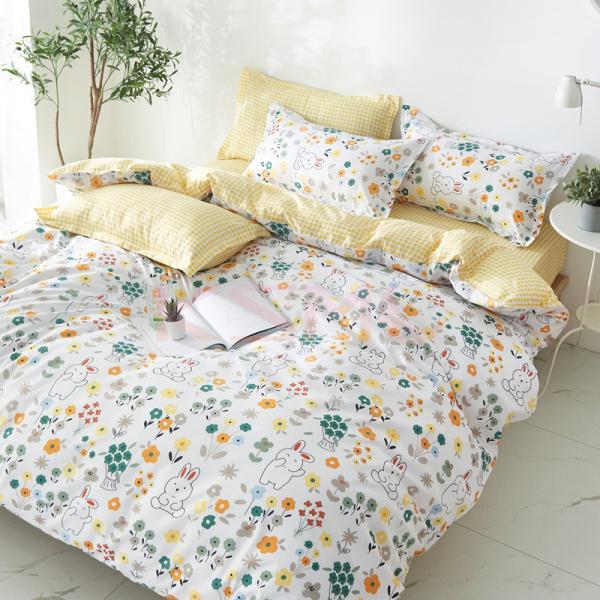 布団カバー 3点セット シングル シーツカバー 寝具カバーセット 枕カバー 柔らかい 肌に優しい 洋式和式兼用 ベッド用 洗える 北欧風 掛け布団カバー|ksmc-shop|03