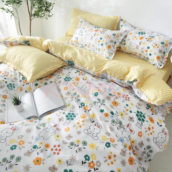 布団カバー 3点セット シングル シーツカバー 寝具カバーセット 枕カバー 柔らかい 肌に優しい 洋式和式兼用 ベッド用 洗える 北欧風 掛け布団カバー|ksmc-shop|04