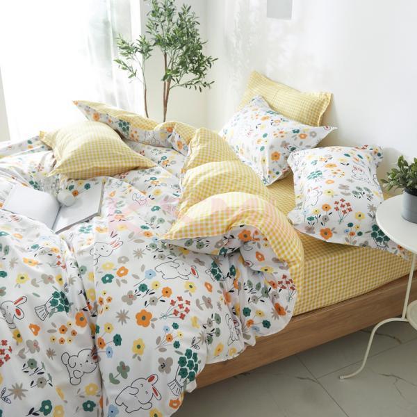 布団カバー 3点セット シングル シーツカバー 寝具カバーセット 枕カバー 柔らかい 肌に優しい 洋式和式兼用 ベッド用 洗える 北欧風 掛け布団カバー|ksmc-shop|05