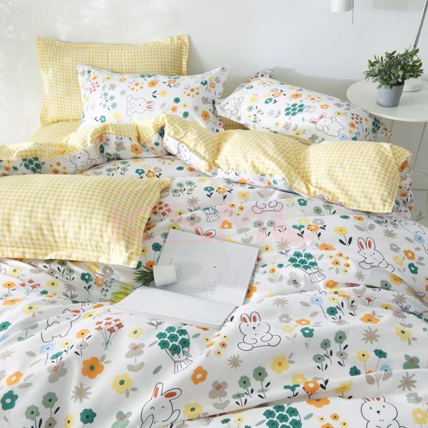 布団カバー 3点セット シングル シーツカバー 寝具カバーセット 枕カバー 柔らかい 肌に優しい 洋式和式兼用 ベッド用 洗える 北欧風 掛け布団カバー|ksmc-shop|06