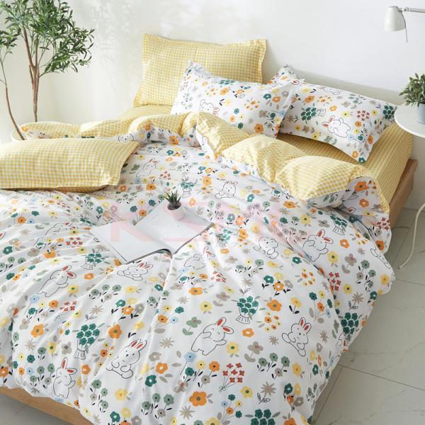 布団カバー 3点セット シングル シーツカバー 寝具カバーセット 枕カバー 柔らかい 肌に優しい 洋式和式兼用 ベッド用 洗える 北欧風 掛け布団カバー|ksmc-shop|07