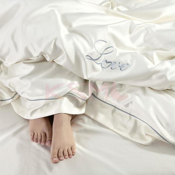 布団カバーセット  4点セット ダブル セミダブル クイーン 布団 シーツ 無地 シンプルデザイン 北欧 ボックスシーツ フラット 枕カバー 寝具|ksmc-shop|14