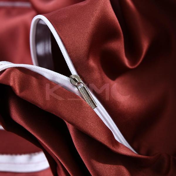 布団カバーセット  4点セット ダブル セミダブル クイーン 布団 シーツ 無地 シンプルデザイン 北欧 ボックスシーツ フラット 枕カバー 寝具|ksmc-shop|15