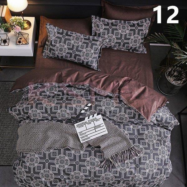 布団カバー 4点セット クイーン シーツカバー 寝具セット 枕カバー ベッド用 洋式和式兼用 柔らかい 北欧風 星空 封筒式 洗える 防臭防ダニ 掛けカバー210x210cm ksmc-shop 14