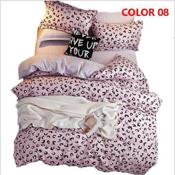 布団カバーセット 3点 4点 シングル セミダブル ダブル 寝具セット ボックスシーツ 枕カバー おしゃれ 北欧風 防ダニ 洗える 洋式和式兼用 柔らかい|ksmc-shop|09