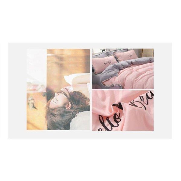 布団カバー セット 3点セット 4点セット シングル ダブル セミダブル 布団 シーツ ホワイト シンプルデザイン 北欧 ボックスシーツ フラット 枕カバー 寝具 ksmc-shop 04