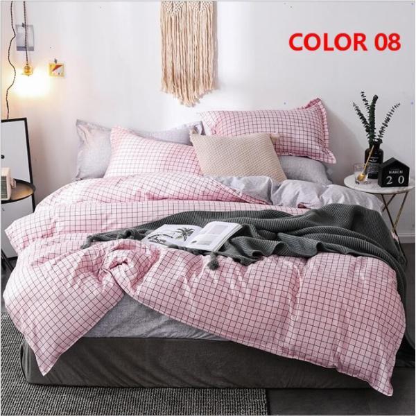 布団カバー 3点セット シングル シーツカバー 寝具カバーセット 枕カバー 柔らかい 肌に優しい 洋式和式兼用 ベッド用 洗える 北欧風 掛け布団カバー150x210cm|ksmc-shop|11