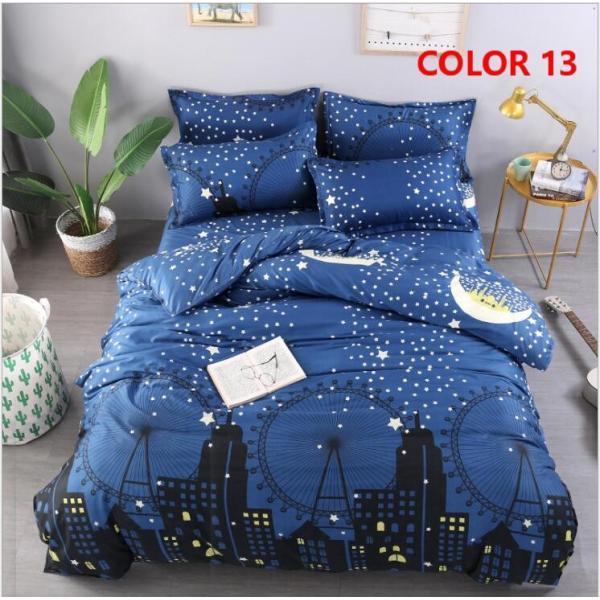 布団カバー 3点セット シングル シーツカバー 寝具カバーセット 枕カバー 柔らかい 肌に優しい 洋式和式兼用 ベッド用 洗える 北欧風 掛け布団カバー150x210cm|ksmc-shop|16