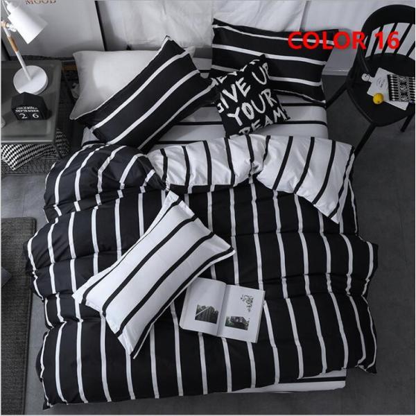 布団カバー 3点セット シングル シーツカバー 寝具カバーセット 枕カバー 柔らかい 肌に優しい 洋式和式兼用 ベッド用 洗える 北欧風 掛け布団カバー150x210cm|ksmc-shop|19