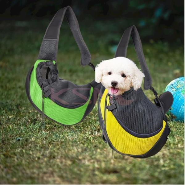ペット用 ショルダーバッグ 犬用品 猫用品 犬用キャリーバッグ スリング式 ペット用キャリーバッグ Carry Bag キャリーバック お出かけ 抱っこ ksmc-shop 20