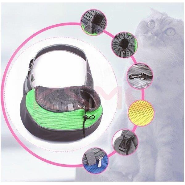 ペット用 ショルダーバッグ 犬用品 猫用品 犬用キャリーバッグ スリング式 ペット用キャリーバッグ Carry Bag キャリーバック お出かけ 抱っこ ksmc-shop 06