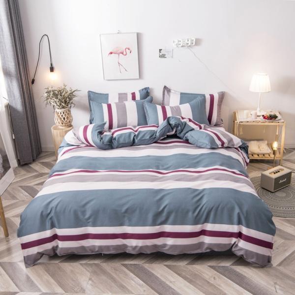 布団カバー 3点セット 枕カバー 掛け布団カバー シングル 寝具カバー 寝具セット 3点セット 洋式和式兼用 ベッド用 防臭 防ダニ 抗菌 洗える 速乾 かわいい|ksmc-shop|11