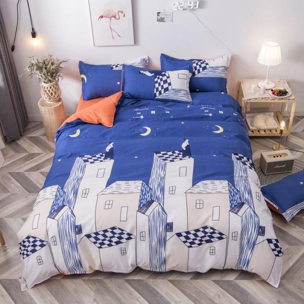 布団カバー 3点セット 枕カバー 掛け布団カバー シングル 寝具カバー 寝具セット 3点セット 洋式和式兼用 ベッド用 防臭 防ダニ 抗菌 洗える 速乾 かわいい|ksmc-shop|12