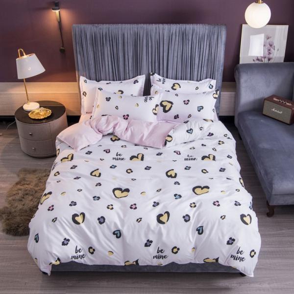 布団カバー 3点セット 枕カバー 掛け布団カバー シングル 寝具カバー 寝具セット 3点セット 洋式和式兼用 ベッド用 防臭 防ダニ 抗菌 洗える 速乾 かわいい|ksmc-shop|05