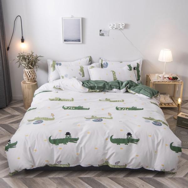 布団カバー 3点セット 枕カバー 掛け布団カバー シングル 寝具カバー 寝具セット 3点セット 洋式和式兼用 ベッド用 防臭 防ダニ 抗菌 洗える 速乾 かわいい|ksmc-shop|07