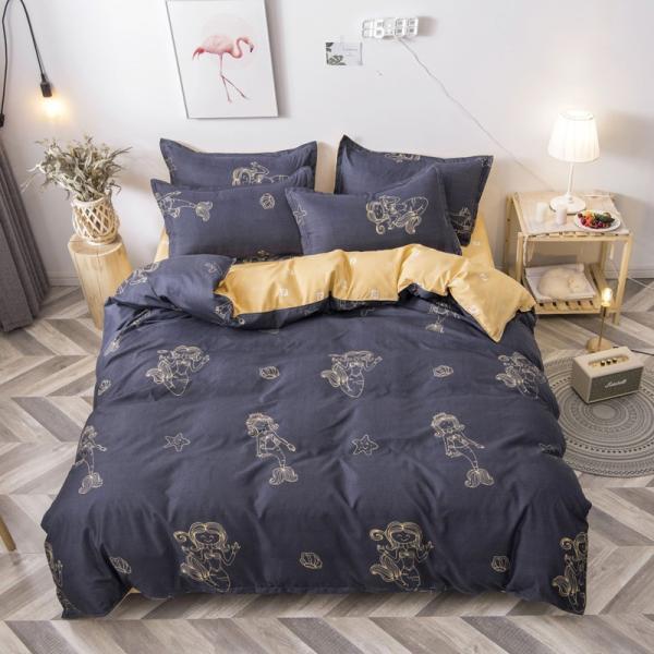 布団カバー 3点セット 枕カバー 掛け布団カバー シングル 寝具カバー 寝具セット 3点セット 洋式和式兼用 ベッド用 防臭 防ダニ 抗菌 洗える 速乾 かわいい|ksmc-shop|10