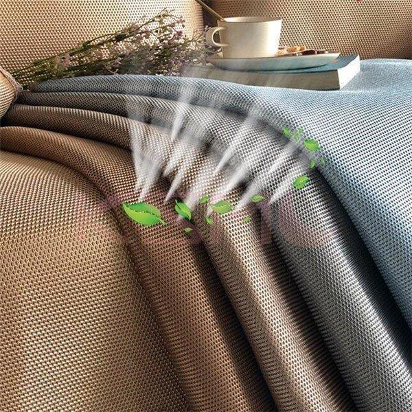 ござ ソファーカバー  1/2/3/4人掛け マルチカバー おしゃれペット対策汚れ 夏 ひんやり 涼しい 冷感 洗濯OKソファー保護|ksmc-shop|07