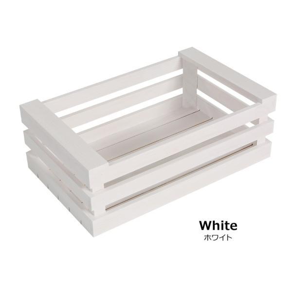 木製 ボックス おしゃれ 北欧 収納 木製ラック 白 黒 グレー Mサイズ スタッキングボックス プランター 小物入れ  @83367|ksplanning|09